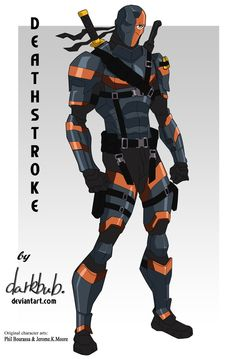 Deathstroke Movieverse (Young Justice stlye) by dark-BuB on DeviantArt