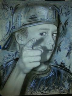 Airbrush art!