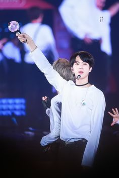 BTS Jin and ARMY bomb