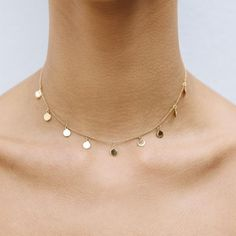 YCL JEWELS CONSTELLATION CHOKER