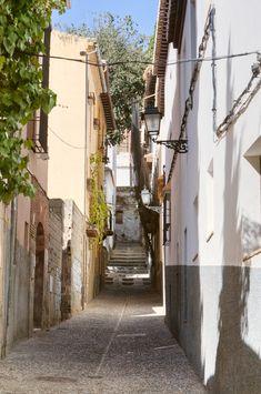 Albaicin Street - Granada, Spain