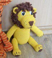 Pet Toys, Crochet Toys, Dinosaur Stuffed Animal, Teddy Bear, Handmade, Animals, Up, Lion, Log Projects
