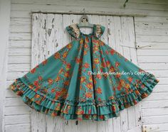 The Handmaiden's Cottage Swing Dress sizes 6 months through size 8 The Handmaiden's Cottage Swing Dress PDF by HandmaidensCottage Girls Frock Design, Kids Frocks Design, Baby Frocks Designs, Baby Dress Design, Baby Girl Frocks, Frocks For Girls, Dresses Kids Girl, Kids Outfits, Vintage Girls Dresses
