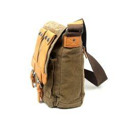 Valley River Canvas Messenger Bag