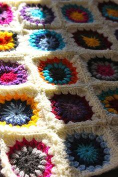 Crochet Granny Square dim-did-it-myself
