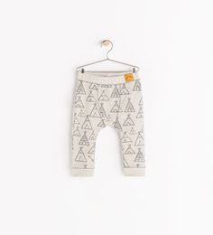 HUT PRINT LEGGINGS from Zara - Need these in all sizes too stinkin cute!