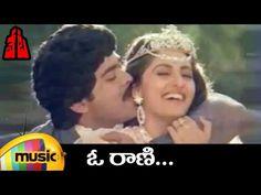 Chiranjeevi Hit Songs | O Raani Full Video Song | Veta Movie Video Songs | Jaya Prada | Mango Music - YouTube
