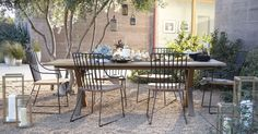 """Communal 98"""" Dining Table    Crate and Barrel 98x33.5x29.5 H  $1399.97 (reg 2199)"""