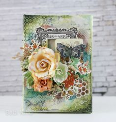 Mixed Media Canvas with tutorial