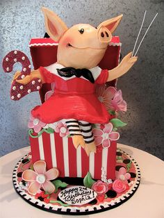 @ LaCrisha Pogue Eide - Paige would love this!!!!  Olivia the Pig cake