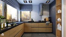 WARSZAWA 170m2 - Średnia zamknięta kuchnia w kształcie litery l z oknem, styl nowoczesny - zdjęcie od BEFORECONCEPT
