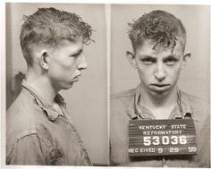 100 Years of Mugshots by Mark Michaelson (24 Pictures)