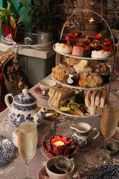 Afternoon Tea at Richmond Tea Rooms, Manchester