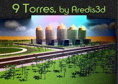 AreBlog 9 Torres -Diseño e infografía por Aredis3d