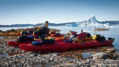 Foto: Greenland camp near Narsaq.  Ruta Kayak y trekking en Groenlandia.