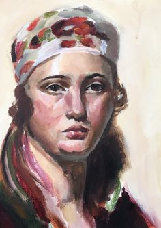 Summer Haddaway, Jackson, Semester 1, 2017-18, 11 x 9, acrylic on canvas