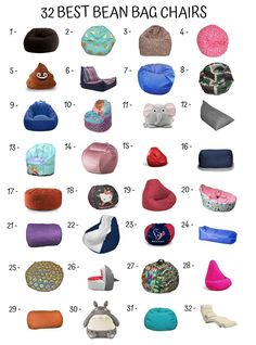 Best 11 Bean Bags Chair Sizing Guide – Home Furniture Design – SkillOfKing. Large Bean Bag Chairs, Large Bean Bags, Bean Bag Sewing Pattern, Black Bean Bags, Lilac Bedding, Bean Bag Sofa, Stuffed Animal Storage, Blue Pillows, Hobbies And Crafts