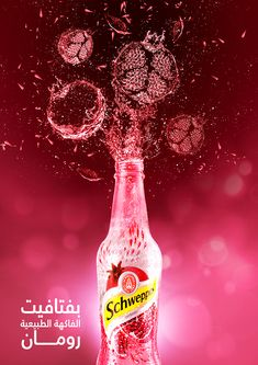 Schweppes on Behance Food Poster Design, Creative Poster Design, Creative Posters, Ad Design, Branding Design, Advertising Pictures, Creative Advertising, Advertising Design, Interactive Web Design
