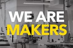 """As part of early planning for the makerspace, the Learning Studio produced a short documentary on the Maker Movement to spark conversation on campus about the value of """"learning by doing. Cultura Maker, Maker Labs, Abilene Christian, Library Week, Innovation Centre, Maker Culture, Play Based Learning, Science For Kids, Design Process"""