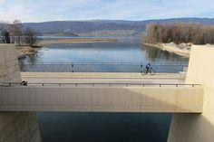 Raymond Vogel Landschaften designed and constructed a completely new landscape around the new Hydropower Plant in Hagneck, Lake of Biel/Switzerland