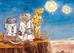 The Art of The Illustrated Rat: On the Planet of Ratooine