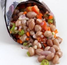Masala Peanut Chaat - Delicious lip-smacking Indian street-food recipe of boiled peanuts with chopped vegetables. Masala peanut chaat from chennai.