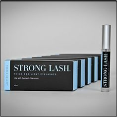 Strong Lash™ - Thick resilient eyelashes, May use with eyelash extensions.