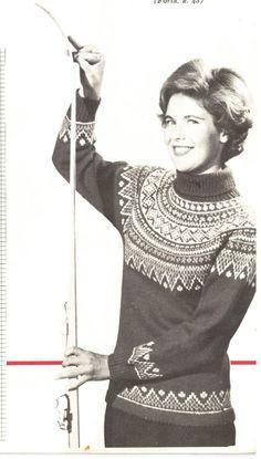 Flyblått og grått Christmas Knitting, Beautiful Patterns, Knitting Patterns, Knit Crochet, Sweaters, Cardigans, Jumpers, Knits, Womens Fashion