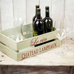 Caja de madera Le Vin