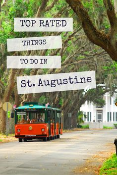 There's so many things to do in St. Augustine with Old Town Trolley Tours! #OldTownTrolleyTours #StAugustine #travel