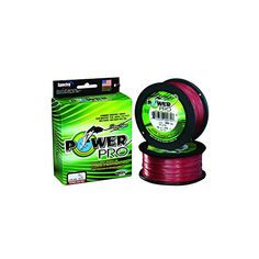 Power Pro Braided Line Vermilion Red  300 Yds Choose 8Lb  50Lb 50Lb Test * Continue to the product at the image link.