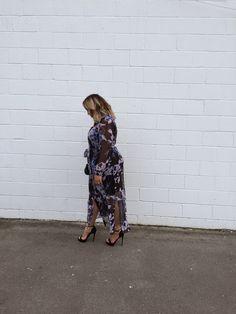 Beauticurve's Style Edit // The Floral Print Maxi   Inside City Chic - - Women's Plus Size Fashion City Chic - City Chic Your Leading Plus Size Fashion Destination #citychic #citychiconline #newarrivals #plussize #plusfashion