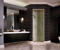 Contemporary Bathroom Vanity in Thermofoil 2