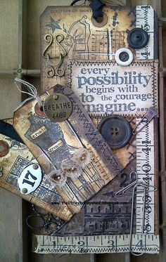 SSSSC - Show some stitching | @Matt Valk Chuah Little Shabby Shed | I love everything about this!