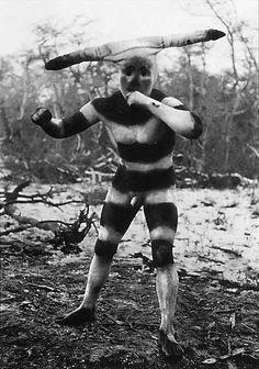 Costumes for Hain, Selk'nam (original Patagonian population) male initiation