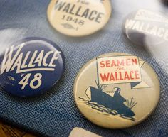 Wallace Campaign Pins