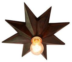 Star Ceiling Mount by Ballard Designs eclectic ceiling lighting $159