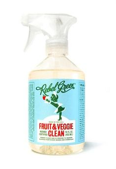 Best fruit & veggie wash ever!  It's crazy to see what comes off food with this stuff