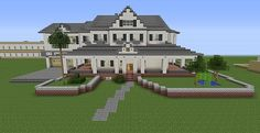 Townhouse Mansion | Minecraft House Design
