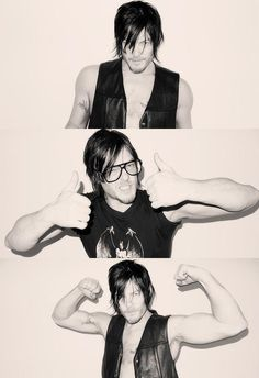Thought Dominique might like this <3 Norman Reedus. Boondock Saints ^.^