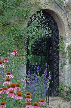 The University of Oxford Botanic Gardens in Oxford, England