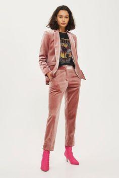 Topshop * ROSA * en condiciones de servidumbre Terciopelo Blazer (sólo) tamaños Reino Unido 6 _ 8 _ 10 _ 12 _ 14 _ 16   Clothes, Shoes & Accessories, Women's Clothing, Coats & Jackets   eBay!