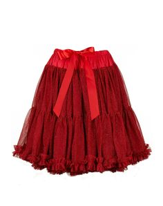 Women's Petticoat - Sparkly Red