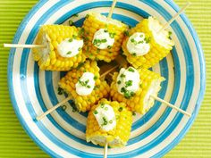 Corn on a Stick - potentially doable? Soo yummy:)
