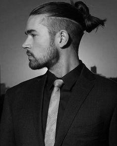 40 Samurai Hairstyles For Men - Modern Masculine Man Buns