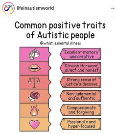 Autism Learning, Learning Support, Autism Sensory, Adhd And Autism, Aspergers Traits, Ocd And Depression, Autism Information, Autism Facts, Understanding Autism