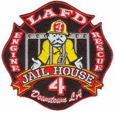 LAFD ENGINE RESCUE 4 JAILHOUSE DOWNTOWN LA (CALI) FIRE PATCH