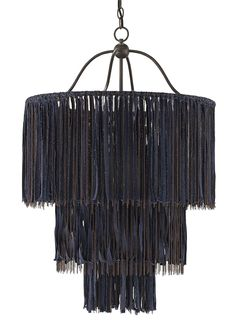 Boho Chandelier design by Currey & Company