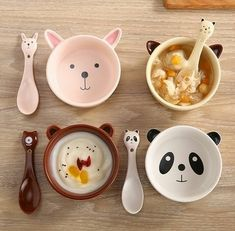 Kawaii Cartoon Ceramic Dining Bowl Spoon sold by SpreePicky. Shop more products from SpreePicky on Storenvy, the home of independent small businesses all over the world. Cute Kitchen, Dessert Bowls, Ceramic Bowls, Ceramic Art, Spoon, Creations, Ceramics, Cartoon, Mugs