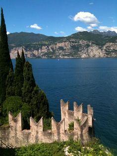 The Castle of Malcesine Lake Garda Italy